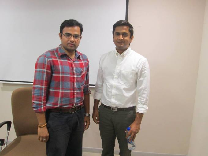 With Mr.Surya Rao, Director, Technology Incubation Cell, BITS Pilani